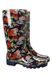 Rain Floral Womens Wellies