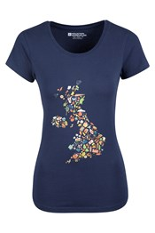 Great Britain Icons Womens T-Shirt