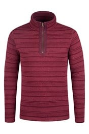 Stripe Mens Fleece