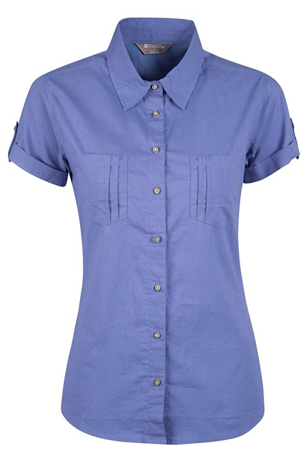 a8ec0c50704ce7 Coconut Short Sleeve Womens Shirt | Mountain Warehouse US