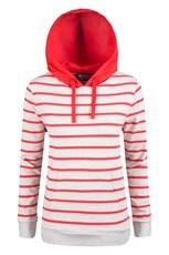 Speckle Womens Stripe Hoodie