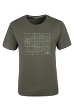 Contour Map Mens T-Shirt