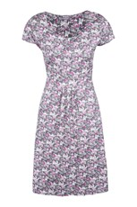 Orchid Patterned Womens UV Dress