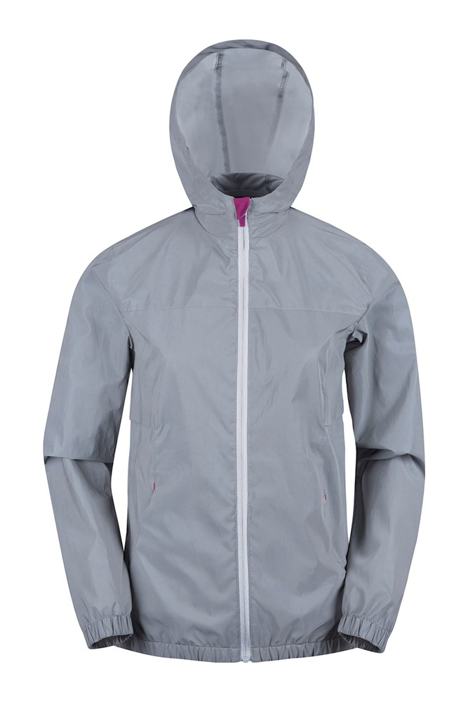 Dashing Womens Reflective Jacket - Silver