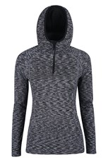 ISOCOOL Dynamic Chakra Hooded Womens Midlayer
