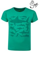 Steve Backshall Shark Stamp Kids T-Shirt