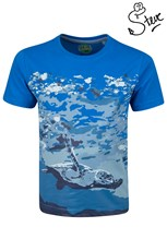 Steve Backshall Oceans Turtle Kids T-Shirt
