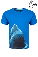 Steve Backshall Shark Attack Kids T-Shirt