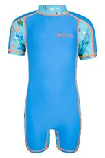 Printed Infant Rash Swim Suit