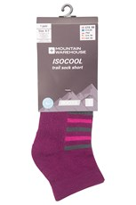 Isocool Ultra Trail Womens Short Socks