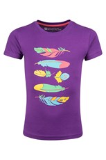 Bohemian Feather Kids T-Shirt