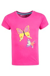 Butterfly Flutterby Kids T-Shirt