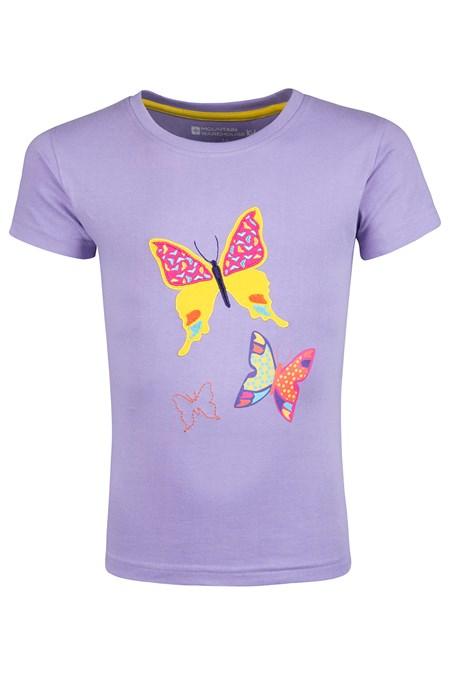 f025a80879be31 Butterfly Flutterby Kids T-Shirt | Mountain Warehouse CA
