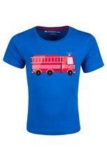 Fire Engine Kids T-Shirt