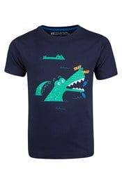 Snap Snap Like A Crocodile Kids T-Shirt