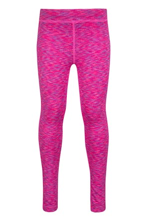 Leggings fille effet chiné Cosmo