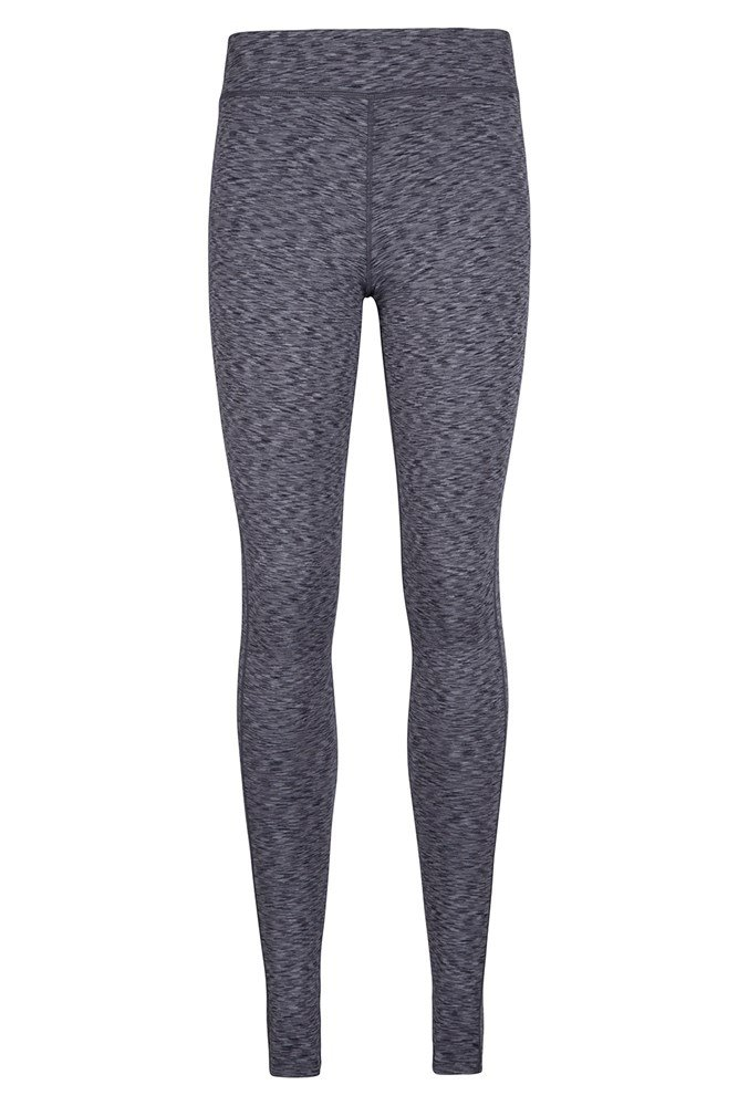 ISOCOOL Dynamic Full Length Space Dye Leggings - Grey