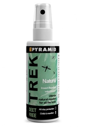 Trek Natural Repellent 60 Ml
