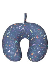 Micro Bead Travel Pillow - Patterned