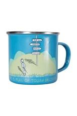 Tough Decisions Enamel Mug