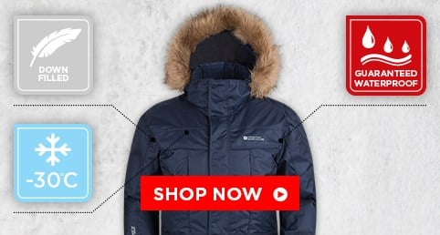 Down Filled Jackets - waterproof & breathable