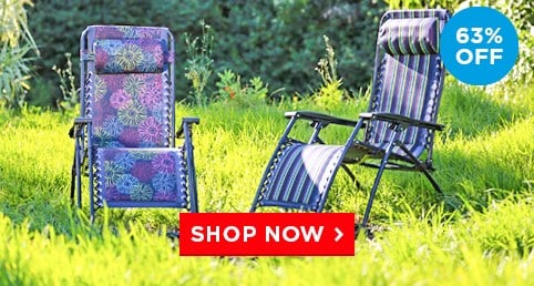 Our bestselling reclining chair - Was £79.99 Now £29.99 – Limited Time Only