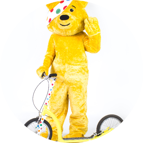 Pudsey Scoots Britain