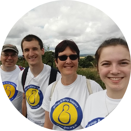 Plumbs Walking For Adam - raising funds for Group B Strep Support