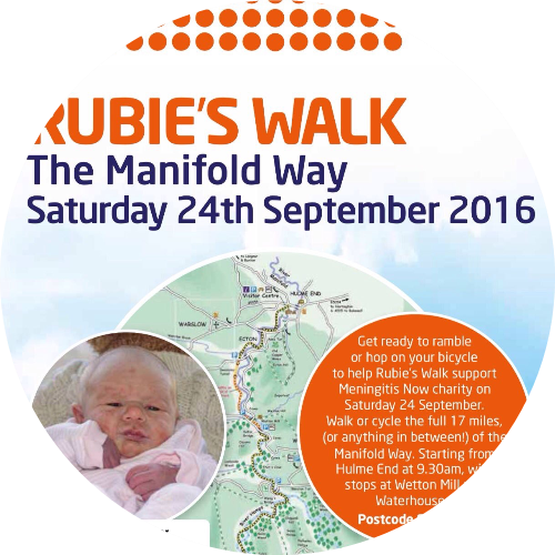 Rubie's Walk 2016 - In memory of Rubie Jane Fisher